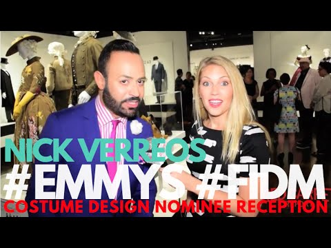 Nick Verreos #FIDM Exhibit Preview for 68th Emmy Awards Costume Design Nominee Event #Emmys