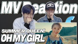 eng) OH MY GIRL 'DUN DUN DANCE' MV Reaction | 오마이걸 던던댄스 뮤직비디오 리액션 | Korean Fanboy Moments | J2N VLog