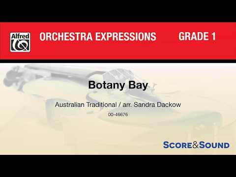 Botany Bay, arr Sandra Dackow – Score & Sound