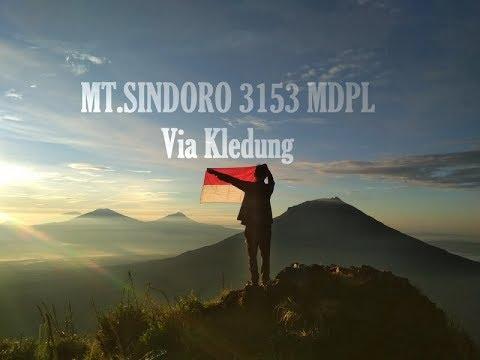 Pendakian Gunung Sindoro Via Kledung 2018 Youtube