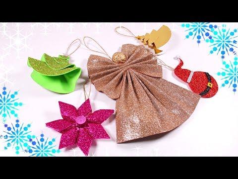 Foam Sheet Christmas Ornaments