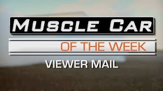 What You Say: Muscle Car Of The Week Episode 265 V8TV
