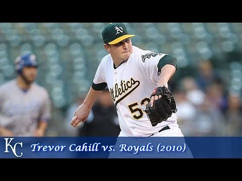 Oakland A's Pitching Performances Episode 4 - Trevor Cahill vs. Royals (2010)