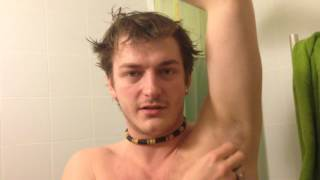 HOW TO SHAVE MEN'S ARMPITS ►- Russian Bear