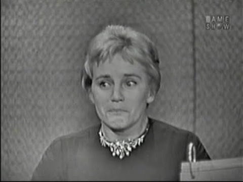 What's My Line?  Maria Schell; Martin Gabel panel; Bob Cummings panel Feb 15, 1959