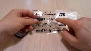 Прикольные качественные наклейки на ручки автомобиля из Китая.