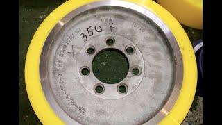 350x130/140x80 Провідне колесо Atlet 110954 для річтраків