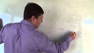 Алгебра 9 класс. 22 сентября. решение линейных неравенств #4