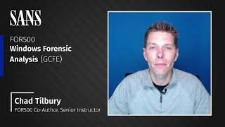 FOR500: Windows Forensic Analysis course: What to expect