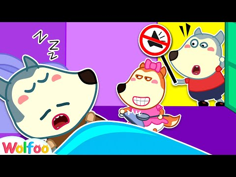 Don't Wake Daddy, Lucy! - Wolfoo and Funny Stories for Kids | Wolfoo Family Kids Cartoon