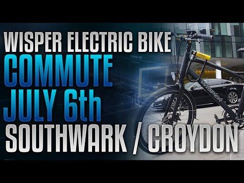 E-bike Commute 2017 07 06 Cycle Home Southwark to Croydon