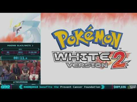 Pokemon Black/White Version 2 by TrevPerson in 3:27:03 AGDQ 2018