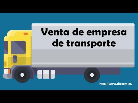 Venta de empresa de transporte