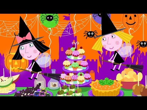 Ben E Holly Em Português 🎃🕷️👻 Halloween Compilação 🎃🕷️👻 Desenhos Animados