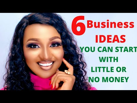 6 Business IDEAS you can START in NIGERIA 🇳🇬 with little or NO CAPITAL