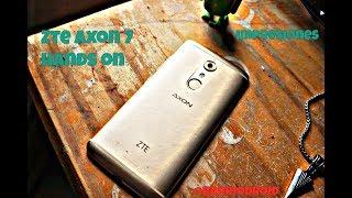 ZTE Axon 7 Unboxing y impresiones, El mejor sonido en un Android!?