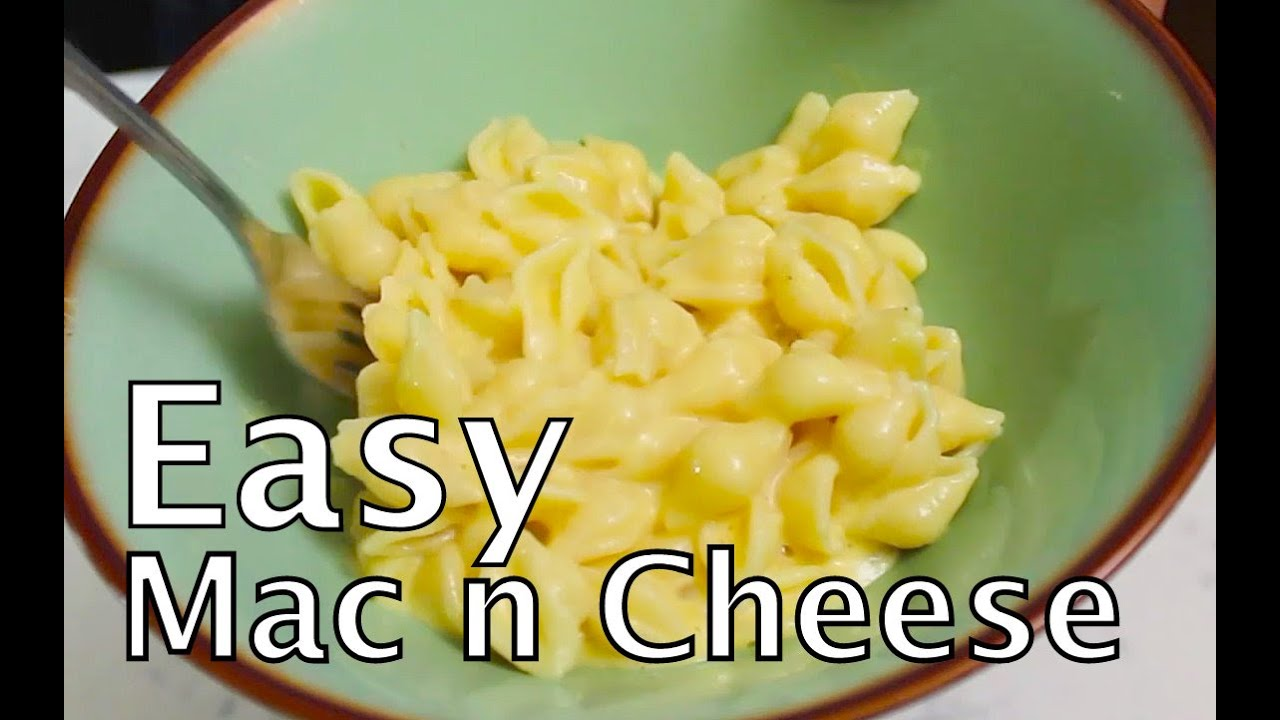 Easiest mac and cheese recipe quick and easy benjimantv youtube forumfinder Choice Image