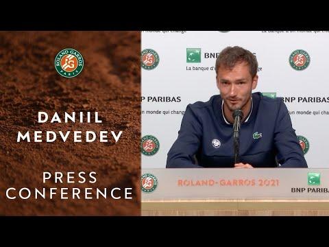Daniil Medvedev Press Conference after Round 4 I Roland-Garr