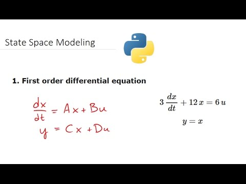 State Space Models and Simulation in Python - YouTube
