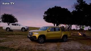 2017 Toyota Hilux VS 2018 Mercedes Benz X-Class   Auto Pickup Comparison