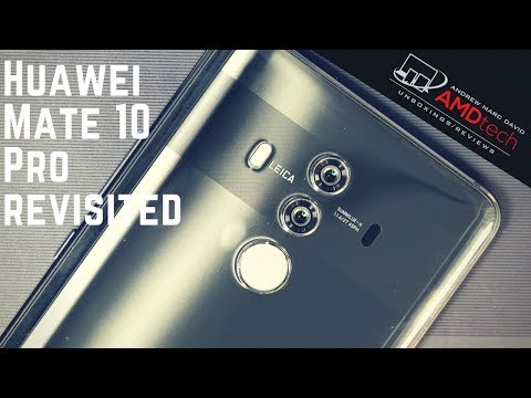 Huawei Mate 10 Pro 3 Months Later:  Still My Favorite?