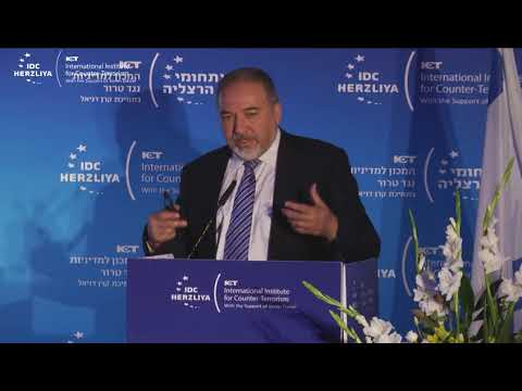 The Honorable Avigdor Lieberman*, Minister of Defense, Israel