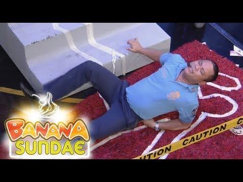 Banana Sundae: Staircase Crime Scene