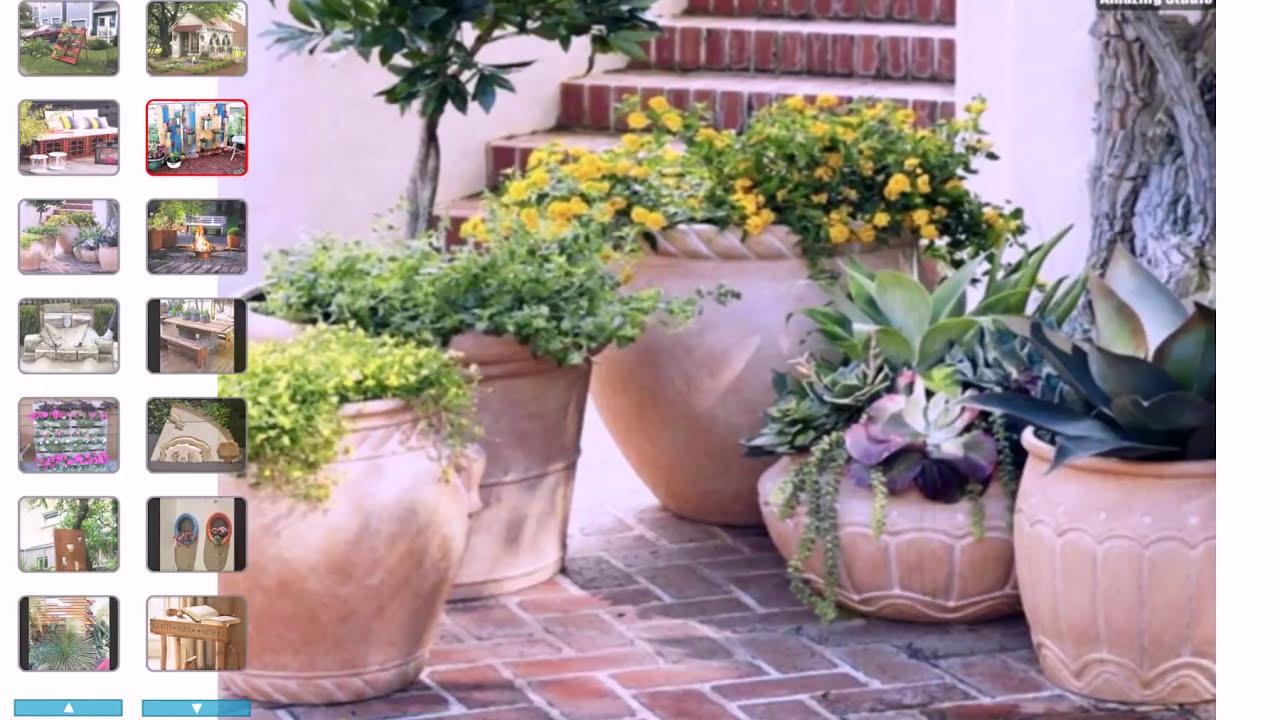 Verführerisch Kreative Gartenideen Selber Machen Dekoration Von