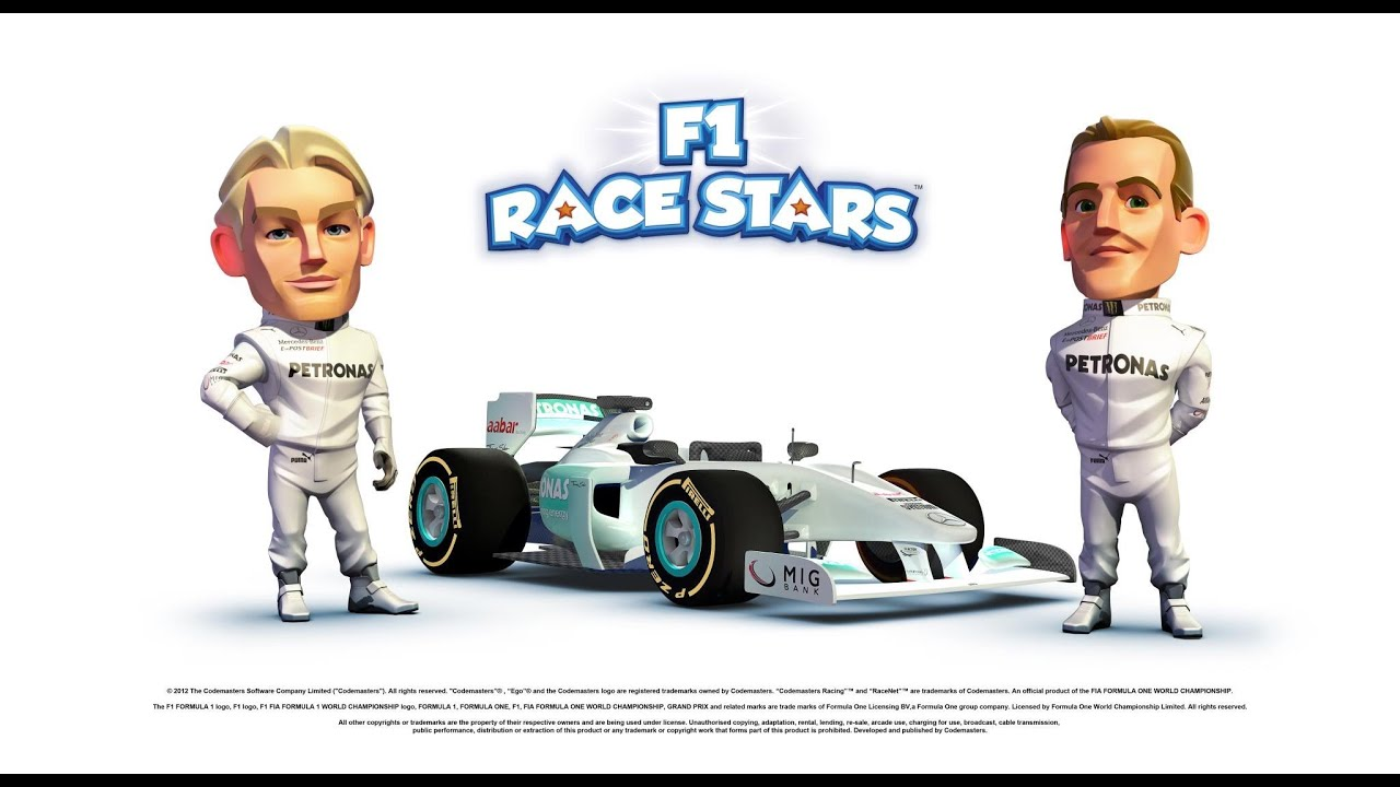 f1 race stars in game intro hd youtube. Black Bedroom Furniture Sets. Home Design Ideas