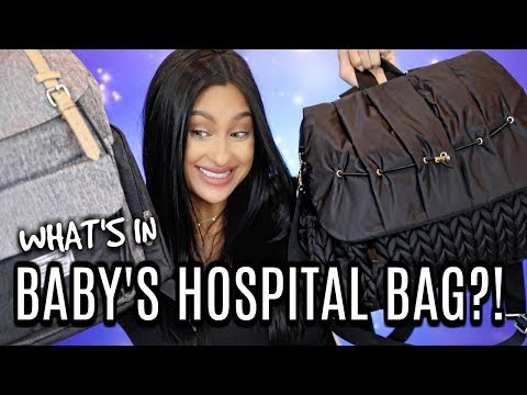 What&39;s in Baby&39;s Hospital Bag? Chris's & Mine