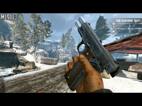 (Ultra Graphics) All Weapons Shown - Enemy Front |
