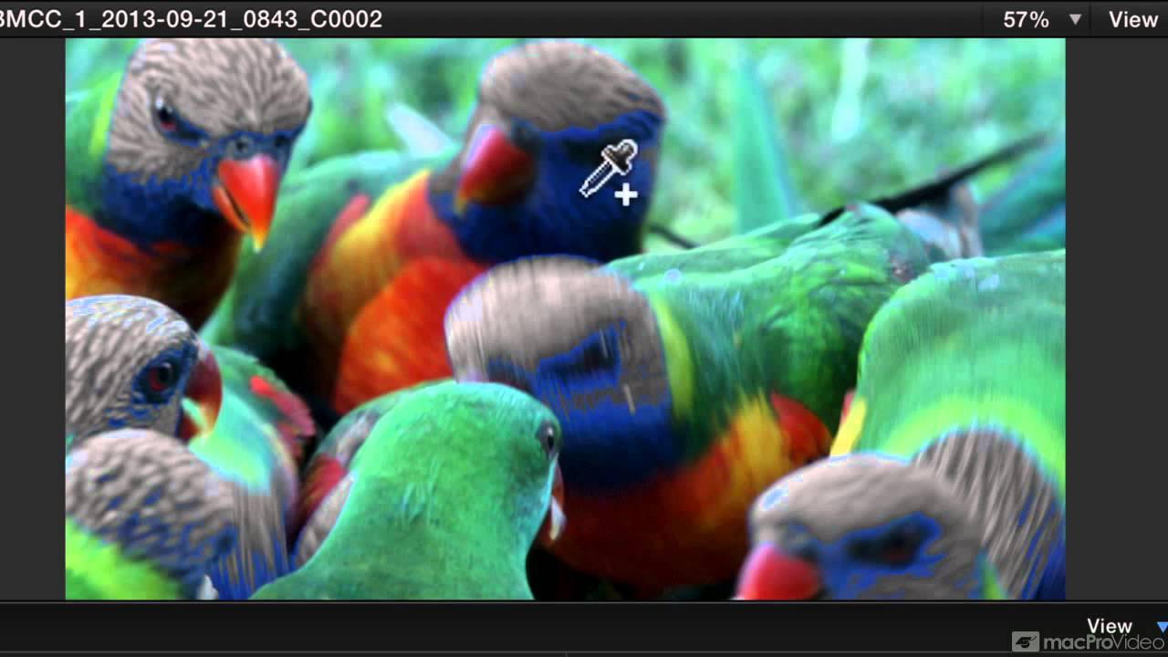 how to color correct in final cut pro