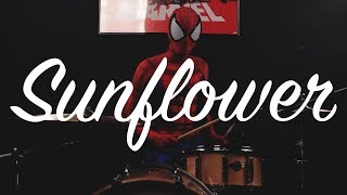 Sunflower - Post Malone, Swae Lee (Drum Cover feat. Spidey) from Spider-Man Into the Spider-Verse
