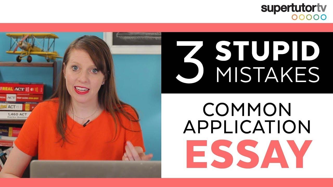 Essay on mistakes