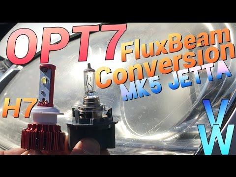 LED Headlights Volkswagon Jetta