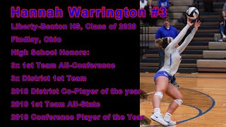 Hannah Warrington #3 (OH), 2019 Regular Season HS Highlights