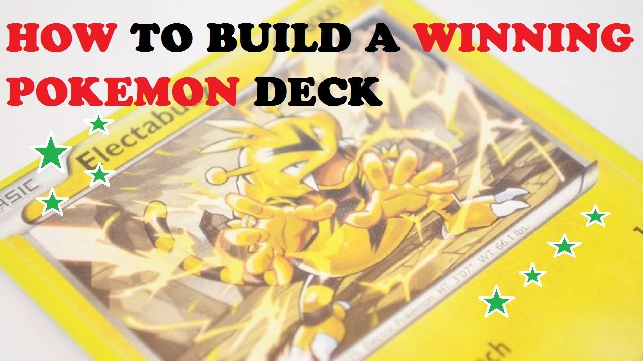 how to create a pokemon deck
