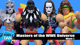 Masters of the WWE Universe Wave 1 Complete Set Mattel MOTU In Hand Ships Now