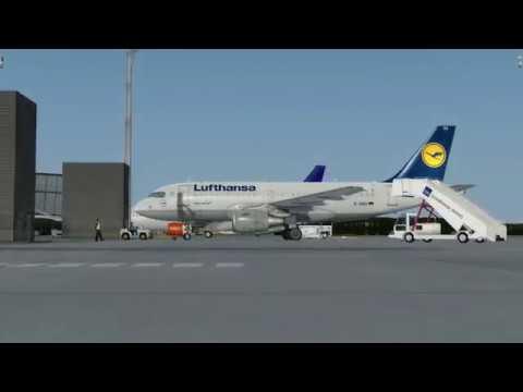 flight from Oslo to Amsterdam (Lufthansa)