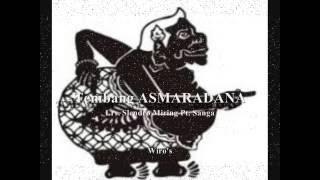 Macapat :  TEMBANG ASMARADANA Lrs.  Slendro Miring Pt.  Sanga