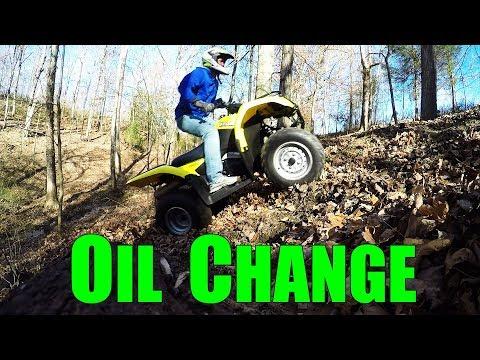 SUZUKI OZARK OIL CHANGE YouTube