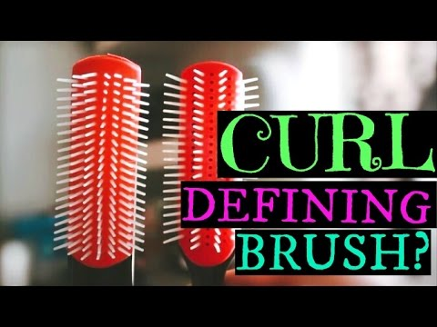 HOW TO MODIFY A DENMAN BRUSH FOR CURL DEFINITION! Curly Girl