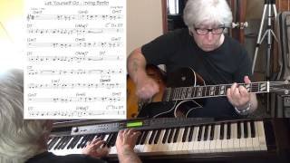 Let Yourself Go - JAZZ guitar & piano cover ( Irving Berlin ) Yvan Jacques