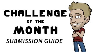 How to Submit your Art to the Challenge of the Month thumbnail