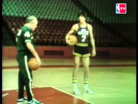 Red on Roundball dribbling drills w/ Pistol Pete Maravich