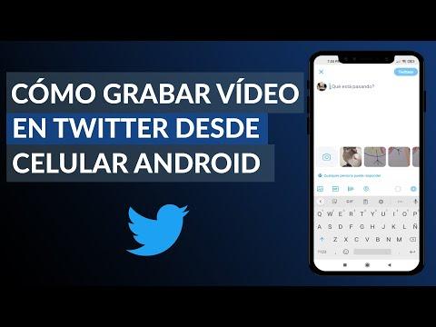 Cómo Grabar Vídeos en Twitter Desde el Celular Android - Muy Fácil