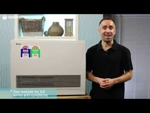 Rinnai K559FTN EnergySaver Flued Natural Gas Heater + Flu Kit Overview - Appliances Online