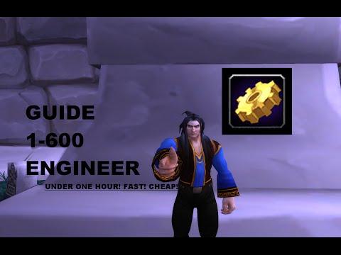 7.0 Engineering 1-630 1 item!! fastest way! BEST Profession World of Warcraft
