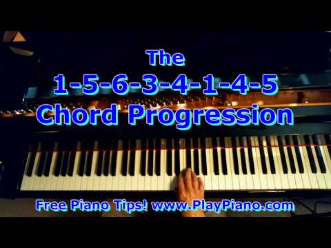 The 1 5 6 3 4 1 4 5 Chord Progression