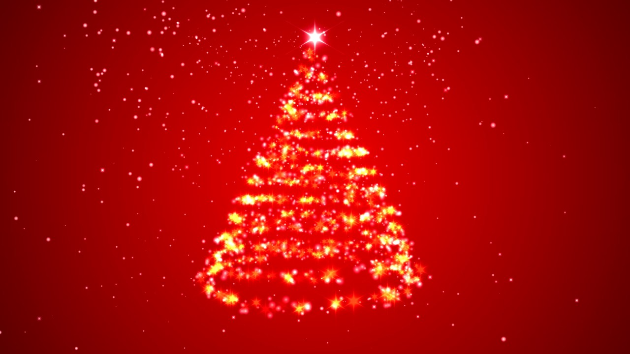 Video Background Merry Christmas Tree Hd Youtube